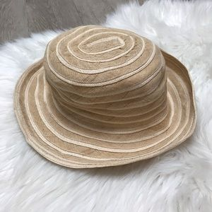 New paper cotton linen olefin blend hat